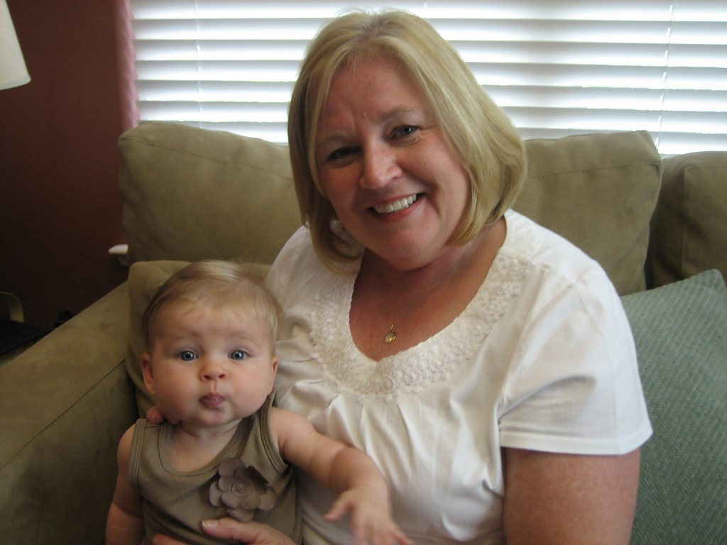 October 13, 2011 - Gramma Bunny came to visit