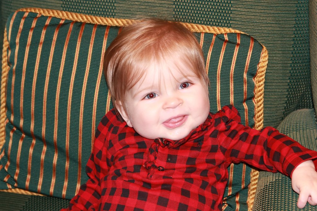 Luella 8 Months- Carmel 2012