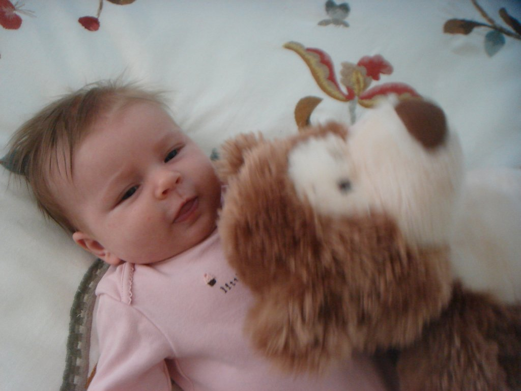 July 8, 2011 - Luella's Two Months!