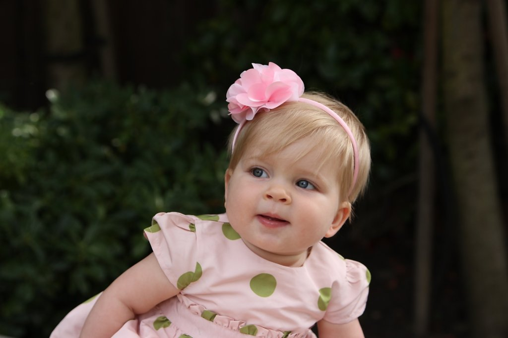 Luella's 1st Easter 4/8/12