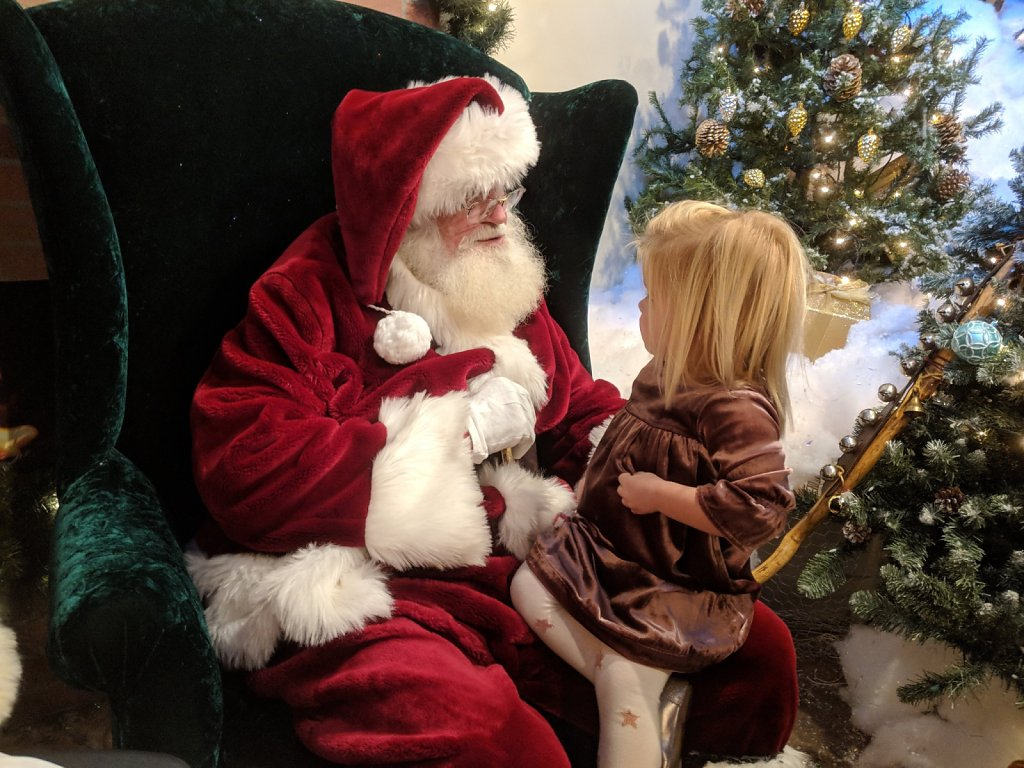 Meeting Santa, Train of Lights